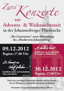 Konzerte zur Advents- und Weihnachtszeit