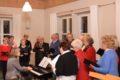 Mit Singen Freude bringen und erleben: Adventliches Wirken des Gemischten Chores